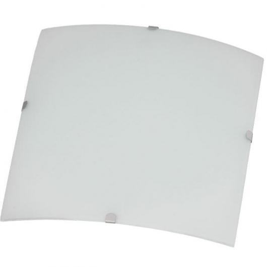 Lampada soffitto quadrata Mónaco 30x30 cm 2x20W E27 Duolec