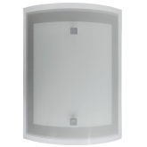 Applique verticale rettangolare 25x17 cm 1x20W / 1X52W Duolec