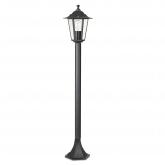 Aplique exterior Classic poste de luz 100 cm 60W preto