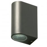 Aplique exterior Saturno doble LED 2xGU10 145x95 mm Duolec
