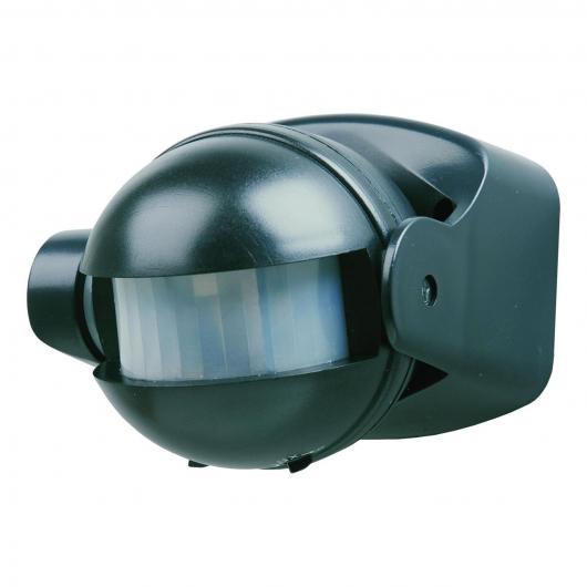 Détecteur automatique de mouvement Duolec noir