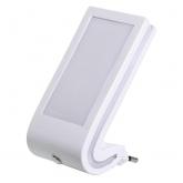 Punto luce con sensore crepuscolare Bianco Duolec