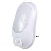 Punto luce con detector di movimento Bianco Duolec
