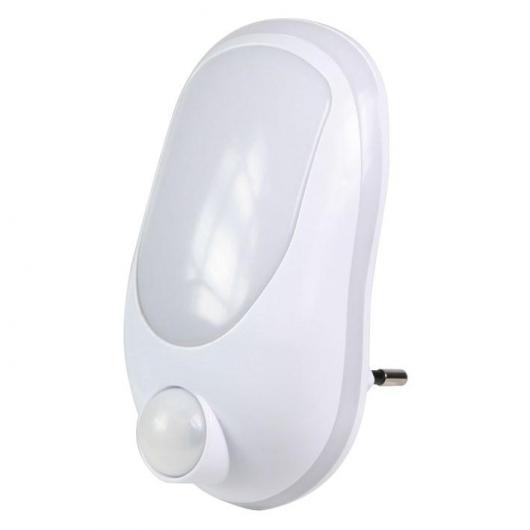Lampe avec détecteur de mouvements Duolec blanc