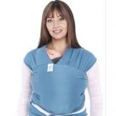 Porte-bébé élastique Moby Wrap indigo