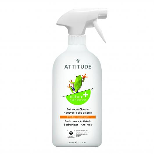 Detergente in spray per bagno tè Attitude, 800ml