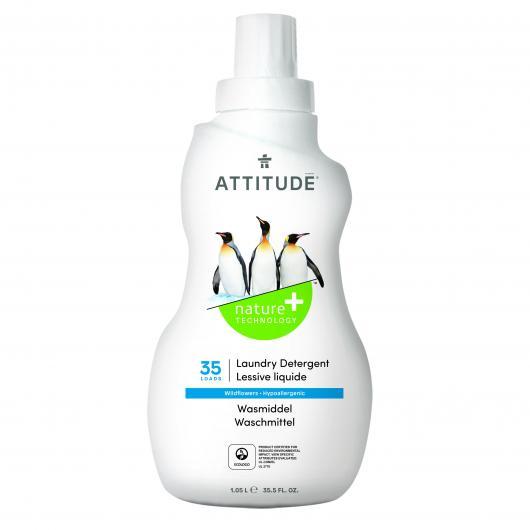 Detergente líquido lavadora 3x concentrado Attitude, 35 dosis