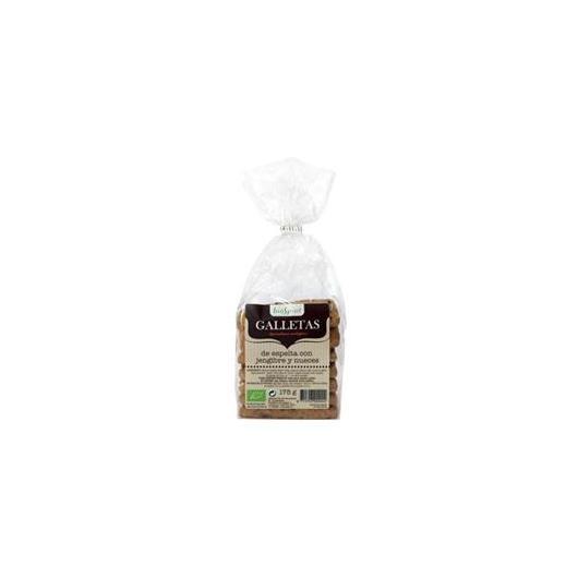 Galletas de espelta con jengibre y nueces bioSpirit