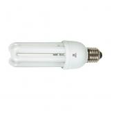 Ampoule à économie d'énergie 3U 15 W E27 2700K Duolec