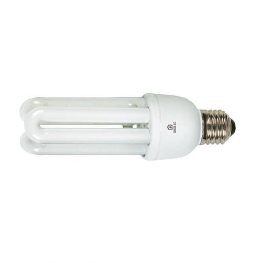 Ampoule à économie d'énergie 3U 15 W E27 6400K Duolec