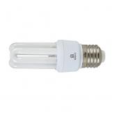 Lâmpada baixo consumo mini 3U 11W E27 2700K Duolec