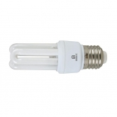Lâmpada baixo consumo mini 3U 11W E14 6400K Duolec