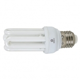 Ampoule à économie d'énergie mini 4U 15 W E27 2700K Duolec
