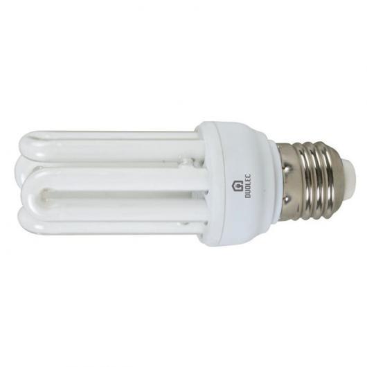 Ampoule à économie d'énergie mini 4U 15 W E14 2700K Duolec