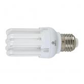 Ampoule à économie d'énergie mini 6U 18 W E27 2700K Duolec