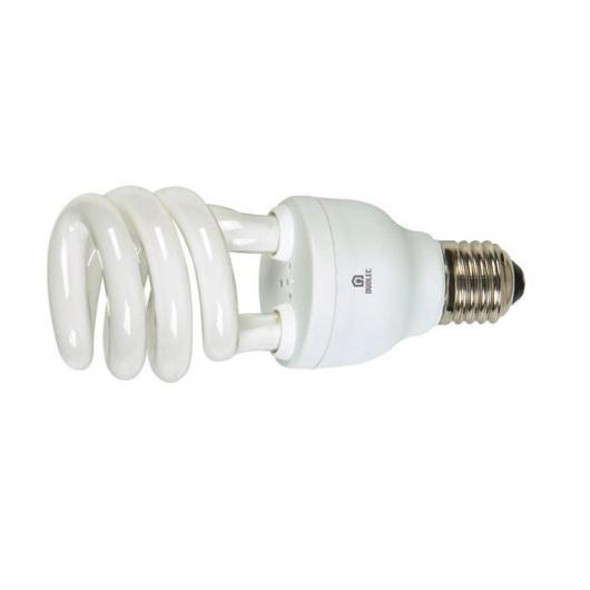 Ampoule spirale à économie d'énergie 13 W E14 2700K