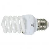 Ampoule spirale mini à économie d'énergie 9 W E27 2700K Duolec