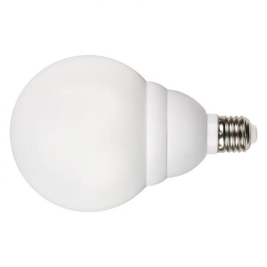 Ampoule globe à économie d'énergie 20 W E27 2700K Duolec