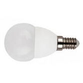 Ampoule LED mini globe 5 W E27 blanc froid