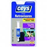 Adesivo especial retrovisores com seringa Ceys