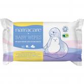 Toallitas para bebé Natracare, 50 unidades