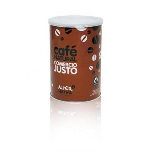 Café naturel moulu en boîte Alternativa, 250 g