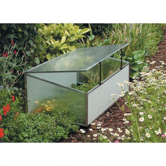 Invernadero de suelo y mini apertura superior