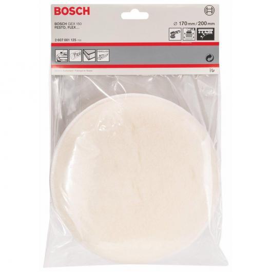 Tampone con adattatore per lucidatrice 200 mm Bosch