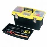 Caixa de ferramentas com fechos metálicos Stanley