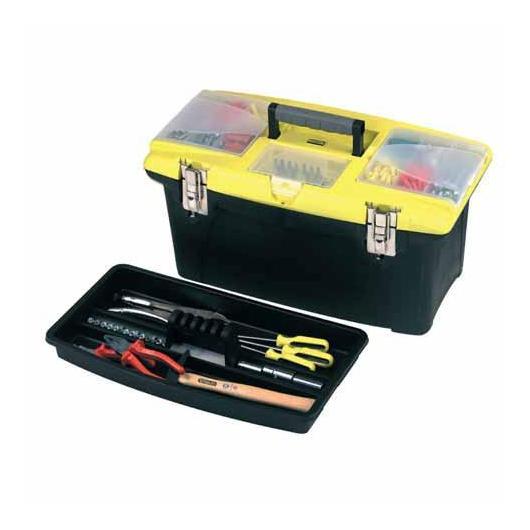 Caja de herramientas con cierres metálicos Stanley
