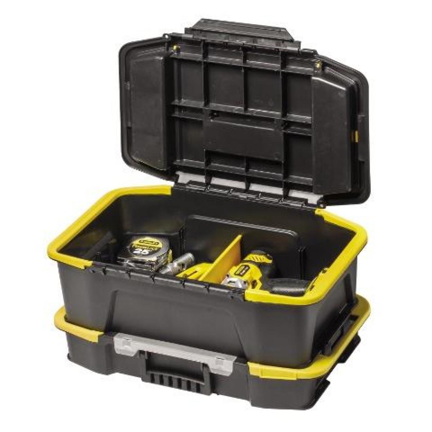 Caja de herramientas y organizador click connect stanley - Caja con herramientas ...