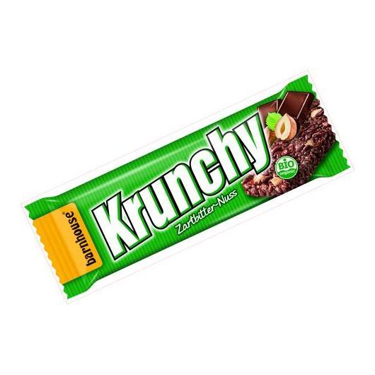 Barretta di cioccolata e nocciole Krunchy 30 g