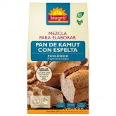 Mistura para elaborar pão de Kamut com espelta Biográ, 509 g