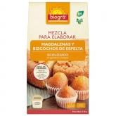 Mistura para elaborar madalenas e bolos es Espelta Biográ, 509 g
