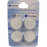 Filtros Ecoducha Irisana 4 pcs