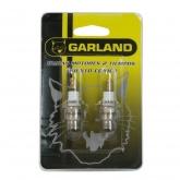 Coppia di candele per motori a 2 tempi Garland
