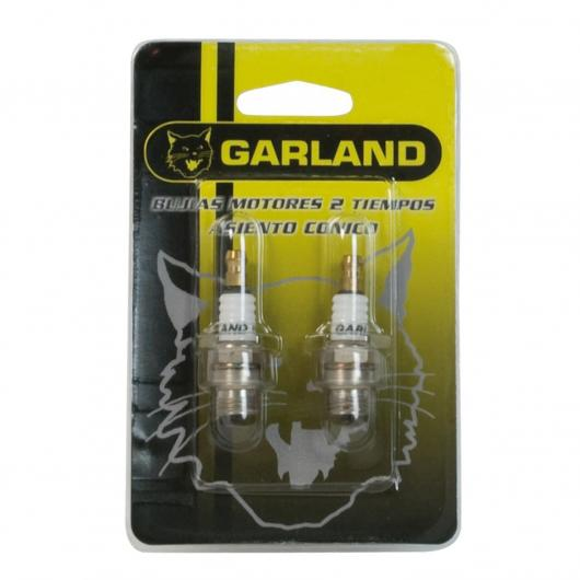 2 bougies pour moteurs à deux temps Garland