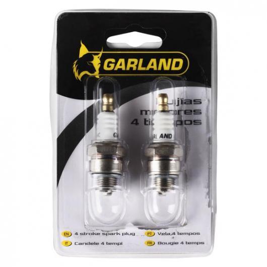 2 bougies pour moteurs à 4 temps Garland