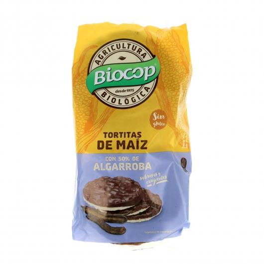 Tortitas Maiz Algarroba Biocop 100 g