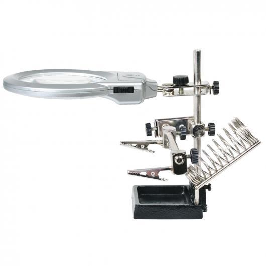 Lupa LED con soporte Ratio