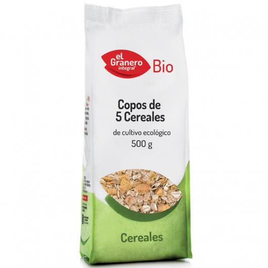 Fiocchi 5 cereali El Granero Integral, 500 gr