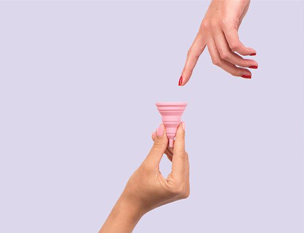 Las copas menstruales y cómo ayudar al medioambiente.