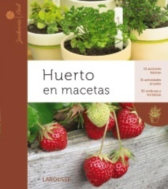 Libros cultivo en macetas