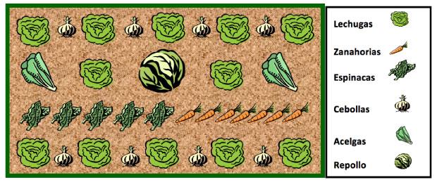 mesa cultivo para otoño invierno