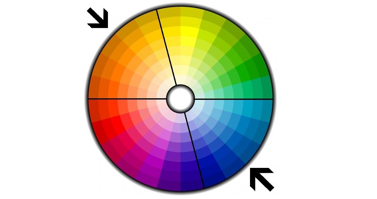 C mo elegir y combinar los colores de nuestra casa for Muebles oscuros paredes claras