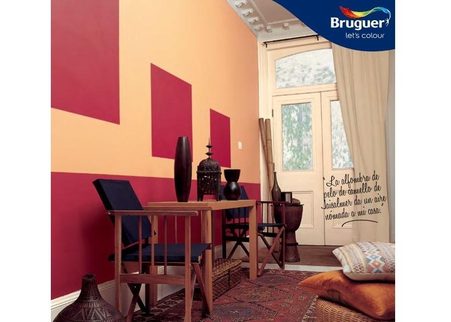 C mo elegir y combinar los colores de nuestra casa for Pinturas bruguer colores