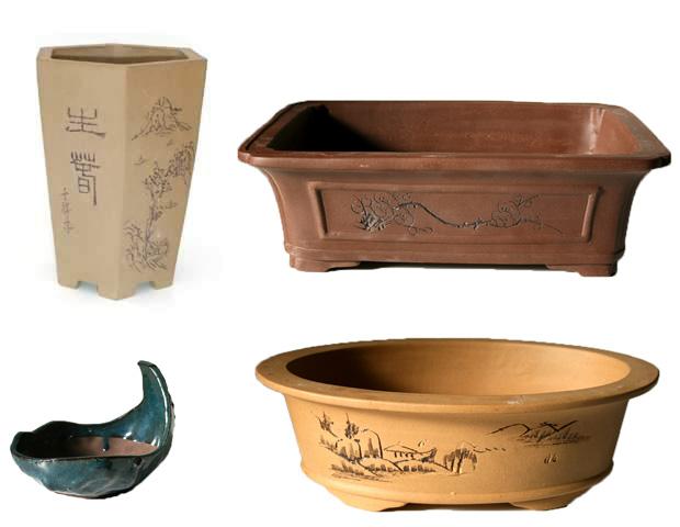 ceramicas de bonsais